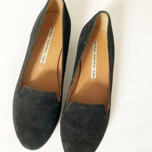 & Other Stories Black Suede Loafers